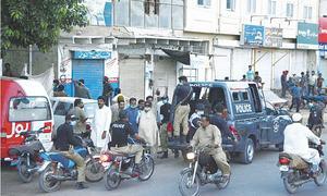 Lockdown in several city areas notified
