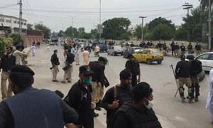 پشاور: نوجوان پر تشدد کے خلاف احتجاج جھڑپ میں تبدیل، 6 پولیس اہلکار زخمی
