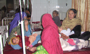Protest threatened over lack of facilities in hospital