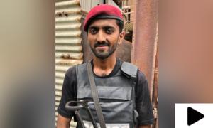 پولیس کے بہادر جوان نے کس طرح کراچی میں دہشت گردوں کا مقابلہ کیا؟