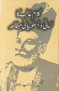 Literary notes: A linguistic and stylistic study of Ghalib's poetry