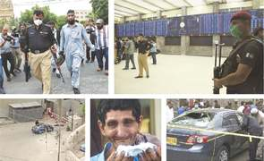 Heroism at PSX as deadly attack thwarted