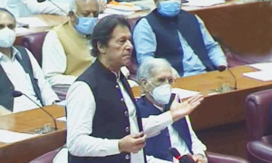 We have 'no doubt' India was behind PSX attack, says PM Imran in NA