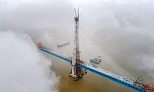 چین کا دنگ کردینے والا تعمیراتی منصوبہ مکمل