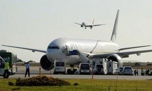 متحدہ عرب امارت کی پاکستانی پائلٹس کے کوائف کی تصدیق کی درخواست