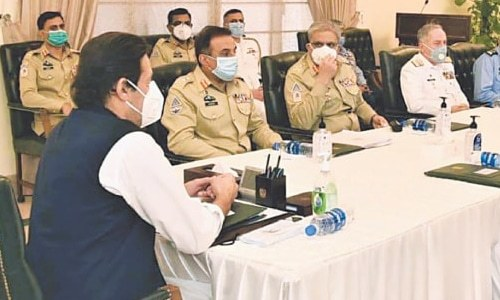 PM, military review security challenges