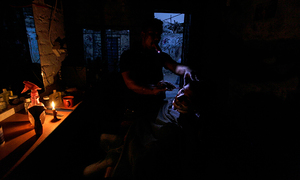 Up to 16 hours of power outages a day spark protests