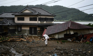 Troops to look for survivors as floods kill 52 in Japan
