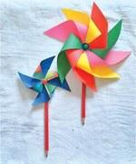 Wonder Craft: Pinwheel pencil topper