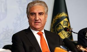 FM Qureshi dispels rumours about his health after 'hacking' of Wikipedia page