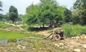 Sewage – a perennial problem in Okara