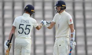انگلینڈ کے خلاف پہلے ٹیسٹ میں ویسٹ انڈیز کی پوزیشن مستحکم