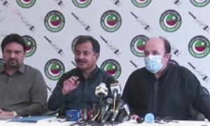 تحریک انصاف کا حکومت سندھ کے خلاف نیب میں جانے کا اعلان