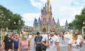 Disney World reopens despite Covid-19 cases rise in Florida