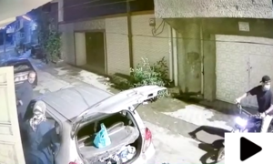 لاہور میں موٹرسائیکل سوار ڈاکوؤں نے صحافی کو لوٹ لیا