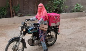 An open letter from a resilient foodpanda rider to the women of Pakistan