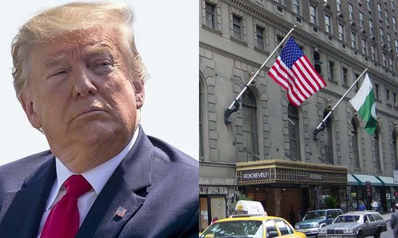 'ڈونلڈ ٹرمپ پی آئی اے کا روزویلٹ ہوٹل خریدنا چاہتے ہیں'