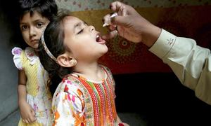 Vaccination is the only way to protect millions of Pakistani children against polio