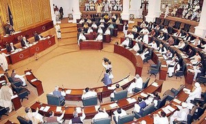 Opposition accuses provincial govt of giving away funds to MNAs