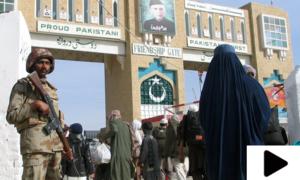 'چمن بارڈر پر افغان فائرنگ اور اسمگلرز  کے اکسانے سے حالات بگڑے'
