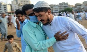 In pictures: Pakistan celebrates Eidul Azha shadowed by Covid-19