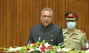 پاکستان کشمیریوں کی اخلاقی، سیاسی اور سفارتی حمایت جاری رکھے گا، صدر مملکت