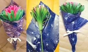 Wonder Craft: Handmade flower bouquet