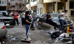 Lebanon mourns victims of devastating blast, searches for missing