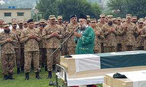 Martyred army soldier laid to rest in Battagram