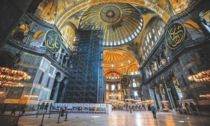 POLITICS: THE CONVERSION OF HAGIA SOPHIA