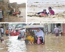 Flood wreaks havoc in Balochistan, Kachho in Sindh