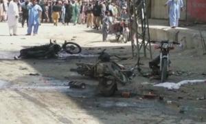 چمن میں بم دھماکا، 5 افراد جاں بحق