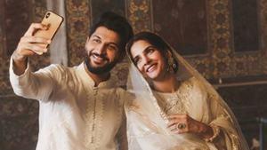 Bilal Saeed, Saba Qamar apologise for video shoot at Wazir Khan mosque