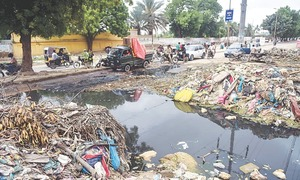 Irked by Sindh govt's performance, SC hands over cleaning of all Karachi drains to NDMA