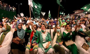 In pictures: With Covid-19 kept at bay, Pakistanis celebrate Independence Day with traditional zeal