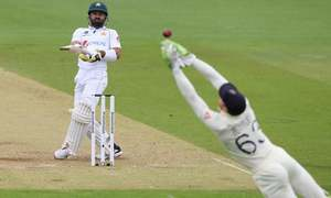 Rizwan frustrates England with fine fifty in 2nd Test