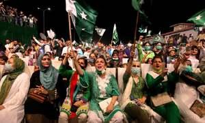ملک میں ہر طرف جشن آزادی کے رنگ