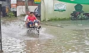 Narowal afflicted with sewage, rainwater muddle