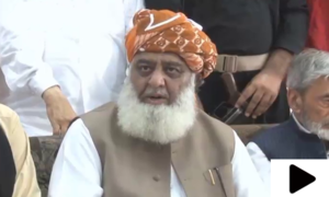 مولانا فضل الرحمٰن کا اپوزیشن پر حکومت کی سہولت کاری کا الزام