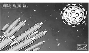 Cartoon: 16 August, 2020