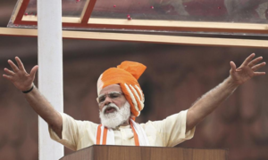 Modi blows hot and cold at neighbours