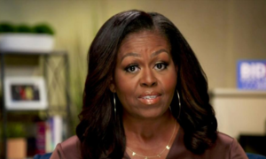 Michelle Obama presses fight for Biden with scathing attack on Trump