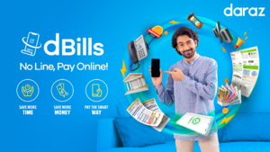 Daraz expands ecommerce footprint with dBills, a convenient platform for utility bills payments