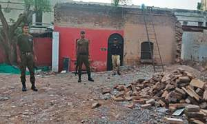 Construction of courts: Maalkhana secured after recovery of coins