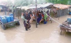Four die as heavy rains cause urban flooding in Karachi