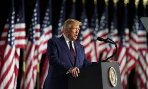 Trump lashes out at Biden, defies pandemic as he accepts Republican nomination