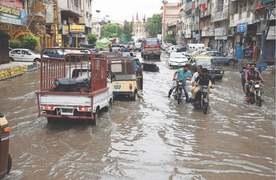 For Karachi, it never rains but it pours