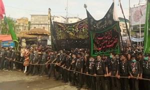 ملک بھر میں یومِ عاشور عقیدت و احترام سے منایا گیا، سیکیورٹی کے سخت انتظامات