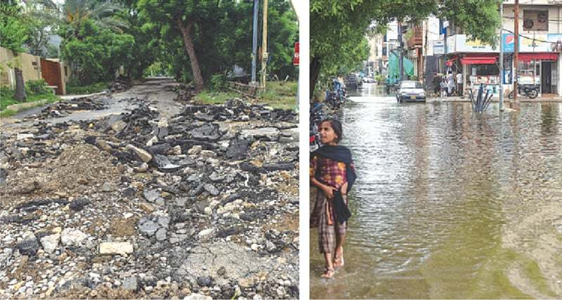 Upscale DHA residents facing untold misery due to rains