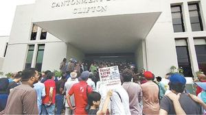 Residents want heads to roll at DHA, Clifton cantt board